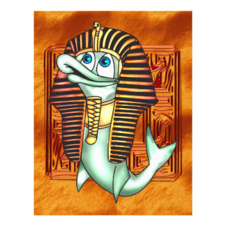 Lustige Pharao-Fische 21,6 X 27,9 Cm Flyer