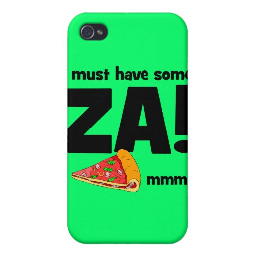 lustige Pizza iPhone 4/4S Hüllen