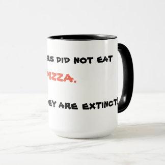 Lustige Pizza-Tasse Tasse