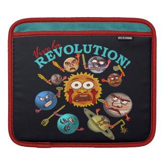 Lustige Planeten-Revolution iPad Sleeve