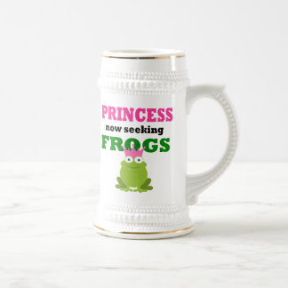Lustige Prinzessin Bierglas