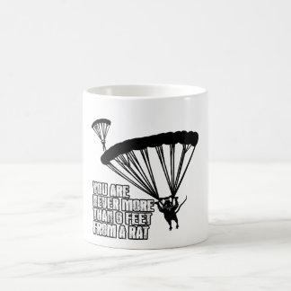 Lustige Ratte Kaffeetasse