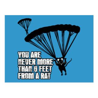 Lustige Ratte Postkarte
