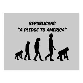 Lustige Republikaner Postkarte