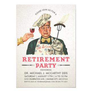 Lustige Ruhestands-Party Einladungen | Vintag