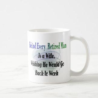 Lustige Ruhestands-T-Shirts und Geschenke Kaffeetassen