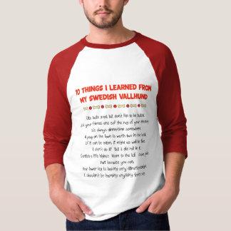 Lustige Sachen I gelernt von meinem schwedischen T-Shirt