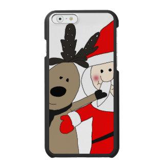 Lustige Sankt und Ren #1 Incipio Watson™ iPhone 6 Geldbörsen Hülle