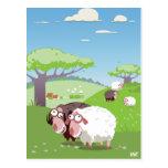 Lustige Schafe Postkarten