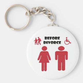 Lustige Scheidung Schlüsselanhänger