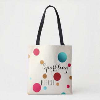 Lustige Schein-Polka-Punkt-Taschen-Tasche Tasche