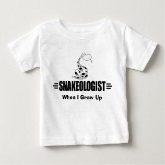 Lustige Schlange Baby T-shirt