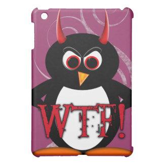 Lustige schlechte Penguin™ iPad Abdeckung iPad Mini Hülle