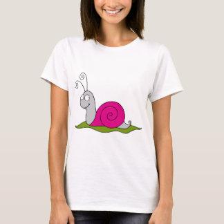 lustige Schnecke T-Shirt