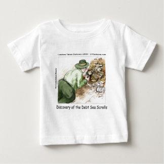 Lustige Schulden-Seerollen Baby T-shirt