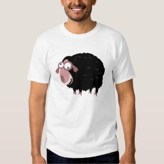 Lustige schwarze Schafe T Shirts