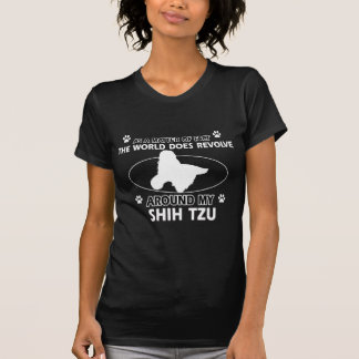 Lustige Shih tzu Entwürfe T-Shirt