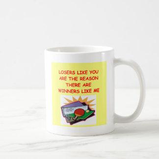 lustige Sieger und Verliererwitz Tasse