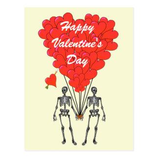 Lustige Skelette Romantische Valentinsgru0026#252 ...