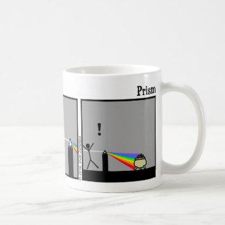 Lustige Stickman Prisma-Tasse Kaffeetasse