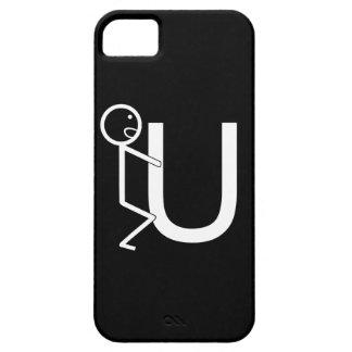 Lustige Strichmännchen der Schrauben-U iPhone 5 Hülle