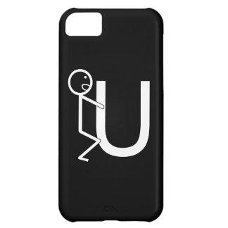 Lustige Strichmännchen der Schrauben-U iPhone 5C Hülle