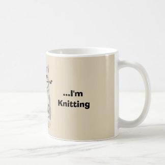 Lustige Stricker-Tasse Kaffeetasse