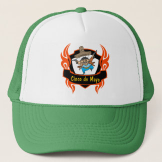Lustige T - Shirts und Geschenke Cinco Des Mayo Truckerkappe