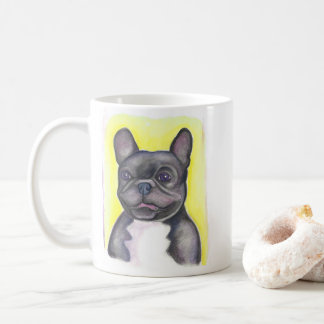 Lustige Tasse der französischen Bulldogge
