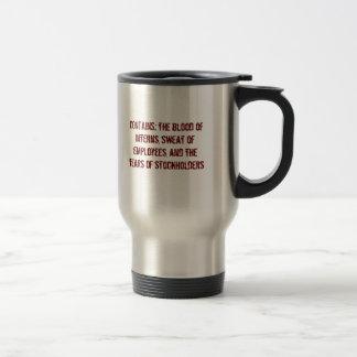Lustige Tasse für Chef