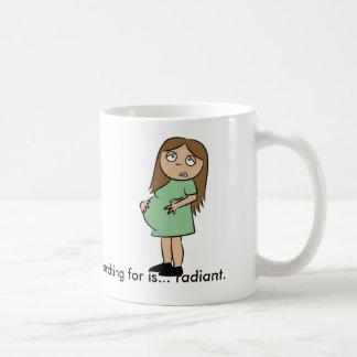 Lustige Tasse für schwangere Frauen