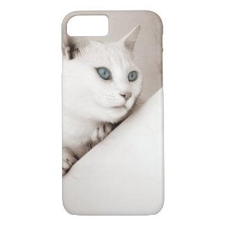 Lustige Tierkatze niedliche iPhone 7 harter Fall iPhone 8/7 Hülle