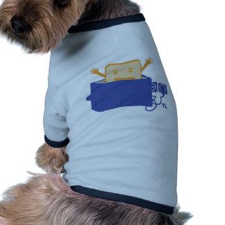 lustige Toasterikone Hunde T Shirt