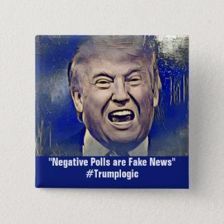 Lustige Trumpf-Logik-politisches Button