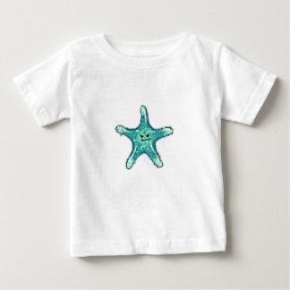 Lustige Tubercled Starfish mit einem Smirk Baby T-shirt