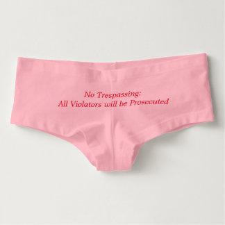 Lustige Unterwäsche für Frauen Damen-Hotpants