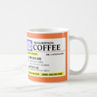 Lustige Verordnungs-Kaffee-Tasse