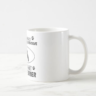Lustige Waliser-Terrierentwürfe Kaffeetasse