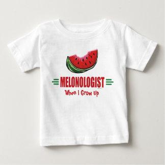 Lustige Wassermelone Baby T-shirt