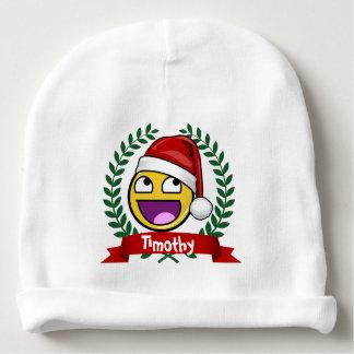 Lustige Weihnachtsart-fantastisches Gesicht Meme Babymütze