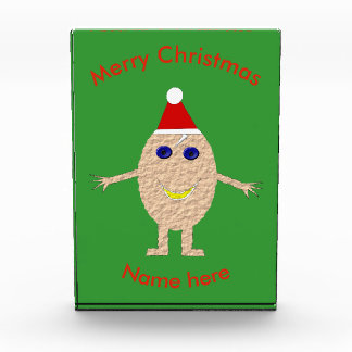 Lustige Weihnachtsei-Dekoration Auszeichnung