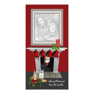 Lustige WeihnachtsFoto-Karte Fotokarten
