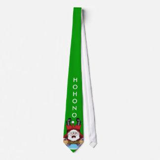 Lustige WeihnachtsKrawatte! Personalisierte Krawatte