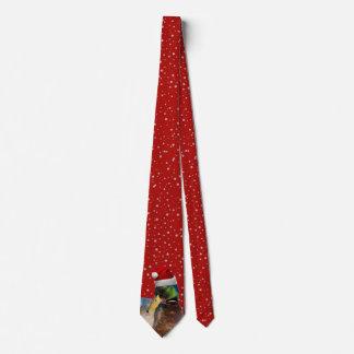Lustige Weihnachtssankt-Ente Krawatte