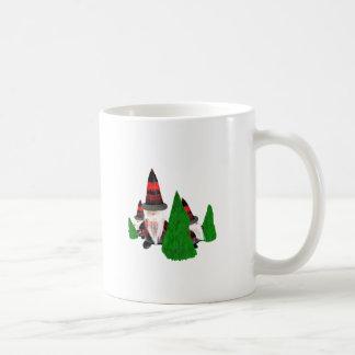 Lustige Weihnachtszwerge Kaffeetasse