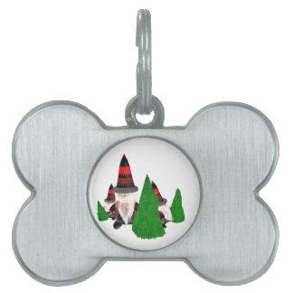 Lustige Weihnachtszwerge Tiermarke