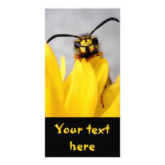 Lustige Wespe-Karte Personalisierte Foto Karte