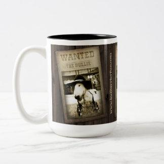 Lustige wilde Weststier-Terrier-Kaffee-Tasse Zweifarbige Tasse