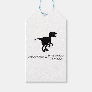 lustige Wissenschaft des Velociraptor Geschenkanhänger