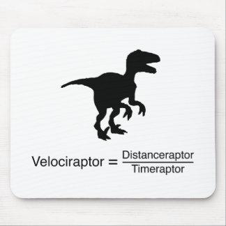lustige Wissenschaft des Velociraptor Mauspad